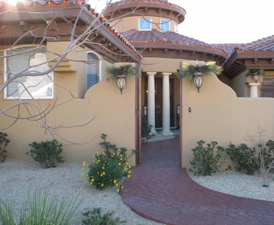 Spanish style exterior paint exterior paint color for Mission stucco