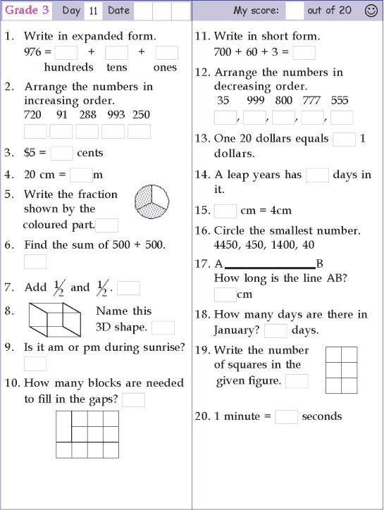 Math Worksheets Grade 11 With Images Mental Maths Worksheets