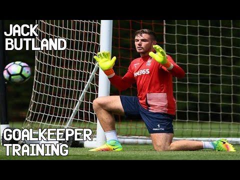 Jack Butland Goalkeeper Training Ejercicios De Futbol Portero De Futbol Entrenamiento Futbol