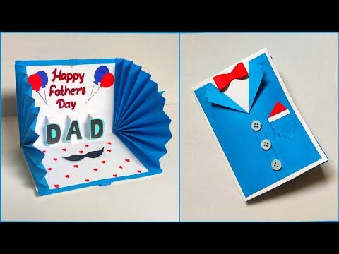 Easy And Beautiful Card For Father S Day Father S Day Gift Ideas Handmade Card For Father Birthday Cards Father Birthday Gifts Father S Day Greeting Cards