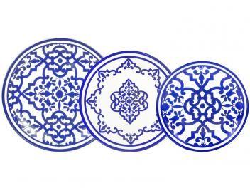 Aparelho de Jantar em Porcelana 18 Peças - L?Hermitage