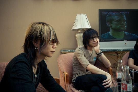 Toshiya and Shinya, Dir en grey, 2009