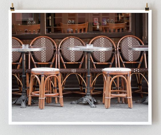 France: French Cafes, Cafe Chairs, Paris Photography, Paris Cafe, France France