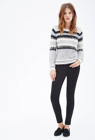 Zippered-Ankle Skinny Jeans | FOREVER21 - 2000059225