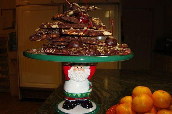 Ancho Chili-Cinnamon Chocolate Bark | Recipe | Chocolate Bark ...