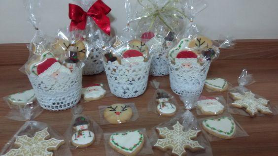 Kit em cestas de crochê | Cookies Point | Elo7