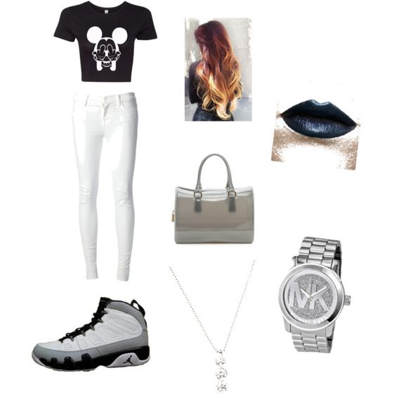 A fashion look from November 2014 featuring J Brand jeans, Furla handbags and Michael Kors watches. Browse and shop related looks.