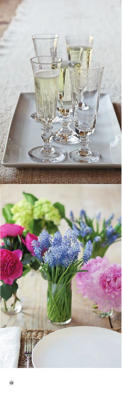 12 foolproof tips for table settings from barefoot - Ina garten flower arrangements ...
