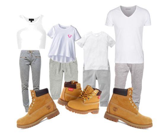 """""""Timbs Fa Da Fam"""" by ladyarie-kb ❤ liked on Polyvore featuring Ragdoll, Boulezar, Old Navy, Topshop, Timberland and True Religion"""