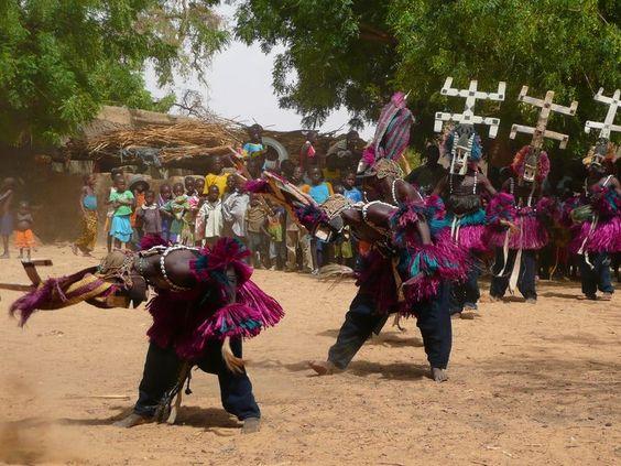 Dogon Kanaga dance: