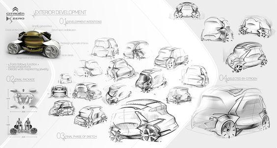 Citroën DS Zéro on Behance