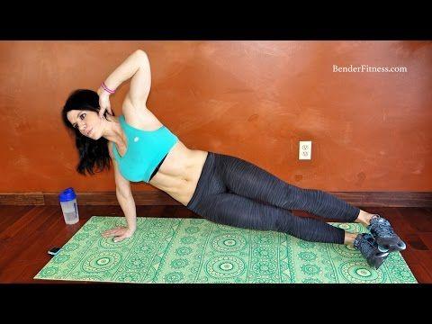 Terrific Tummy Toner: 20 Minute Fat Burn HIIT Workout | Bender Fitness