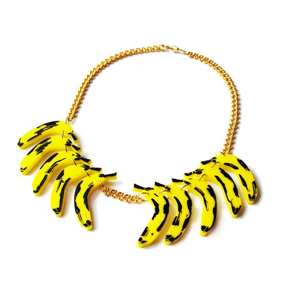 Banana Necklace by Patricia Nicolas
