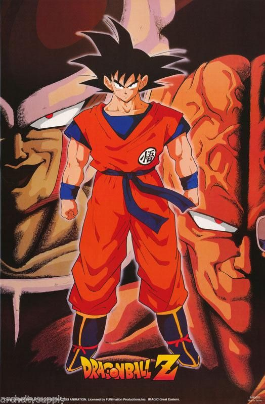 Dragon Ball Z Son Gohan Poster Glossy and Laminated