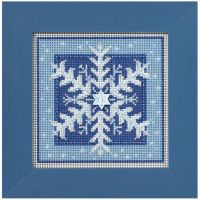 Crystal Snowflake Counted Cross Stitch Kit