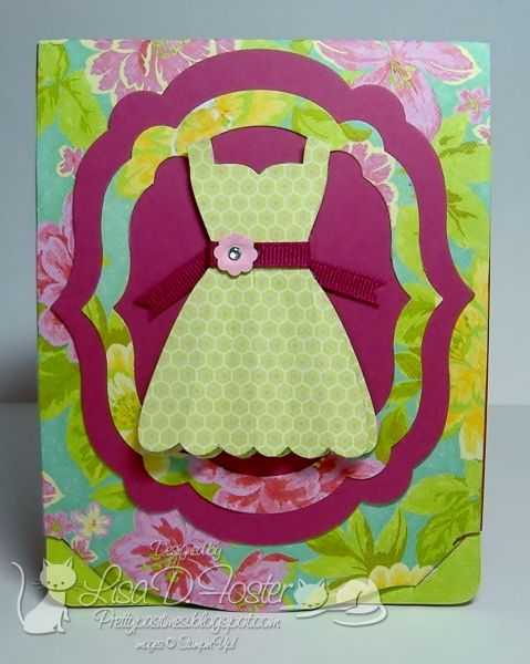 Mother's Day Pop N Cuts Front of Card by lisa foster - Cards and Paper Crafts at Splitcoaststampers