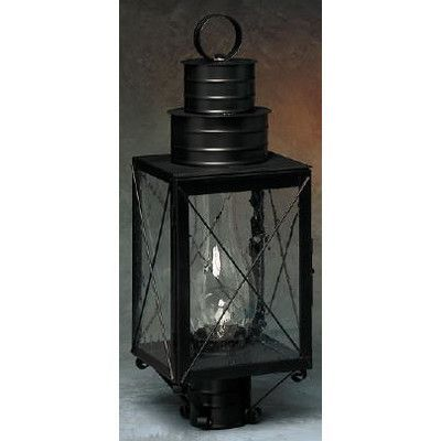 Brass Traditions 200 Series 1 Light Post Light Finish: