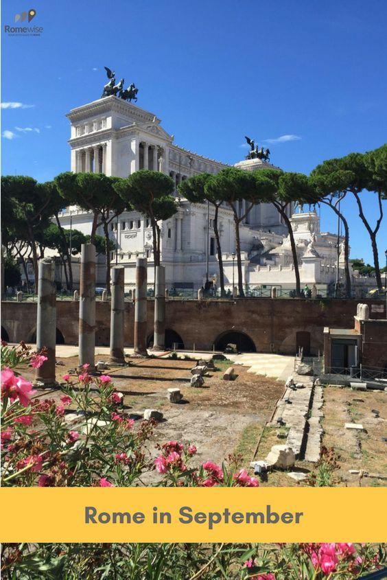 Rome In September Weather In Italy Italy In October Italy In September