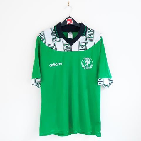 Nigeria Home Football Shirt 1994 95 Football Shirts Italy Football Shirt Classic Football Shirts
