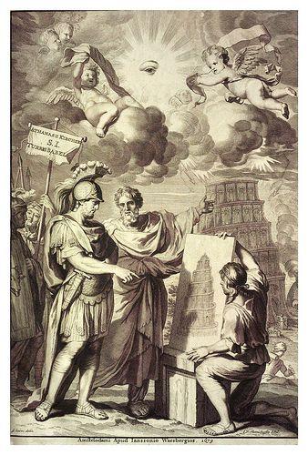 011-Kircher Athanasius Turris Babel 1679