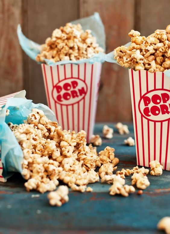 salted butterscotch popcorn
