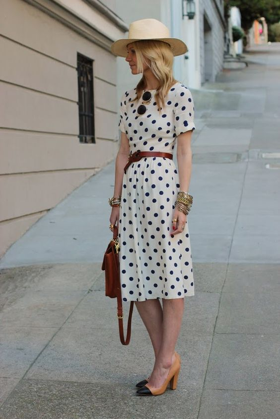 polka dots are always in