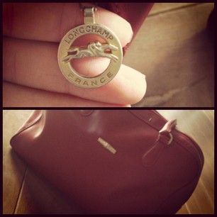New bag #longchamp #france #bordeauxred #bag #instacollage  #Bordeauxblend by @joyhartjejouxxx