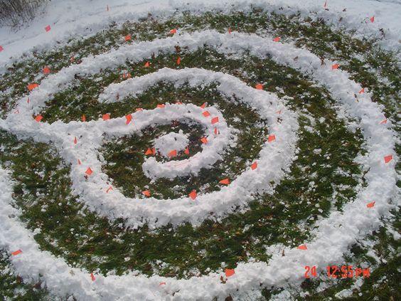 """Circle of Ferns"" Labyrinth - Marlborough, Connecticut"