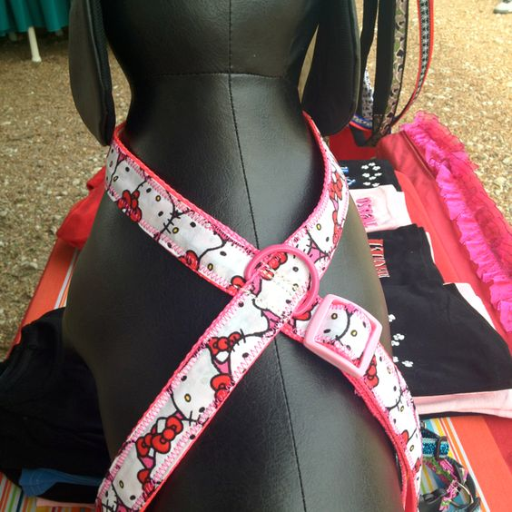 Hello Kitty Harness buy this at www.furreverdoggies.com