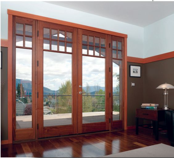 Pinterest the world s catalog of ideas for Craftsman french doors