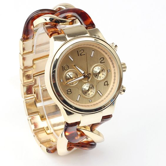 Luxury Fashion Retail | Luxury Watches Women Quartz Gold Color Fashion Lady Stainless Steel ...