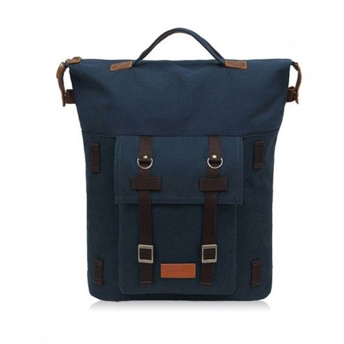 [Peter Bag] A.P.O Big Canvas Backpack - Turkey Blue