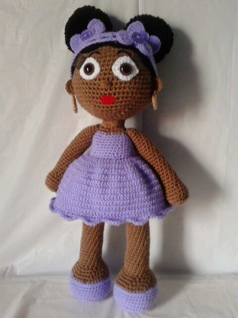 Crochet dolls, African americans and American girls on ...