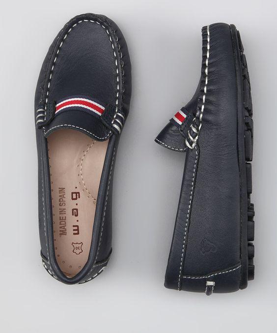 WAG Navy Ribbon Loafer
