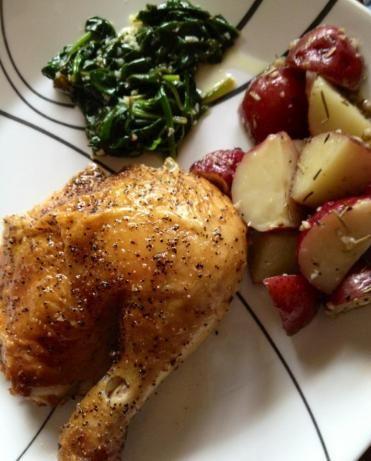 Roasted chicken, Chicken and Easy roast chicken on Pinterest