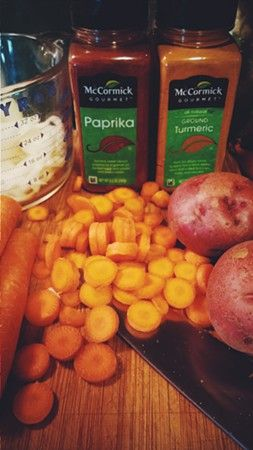 Home Cookin': Veggie Soup & Cauliflower Fritters