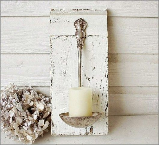 Candle holder DIY.