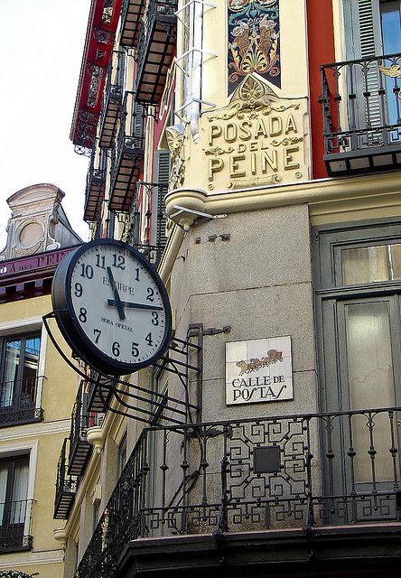 Posada del peine la más antigua de Madrid!!!! Hoy convertida en mini hotel de lujo. En pleno centro de Madrid