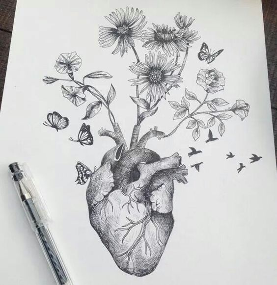 Surreal drawing by Alfred Basha