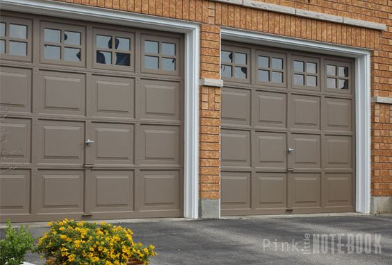 Curb appeal Garage doors and Garage on Pinterest