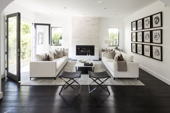 Each other minimal living rooms and minimal living on for Living room and family room next to each other