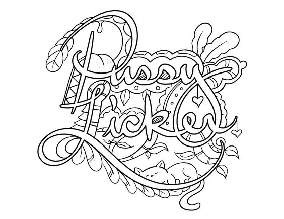 pussyfoot coloring pages - photo#17