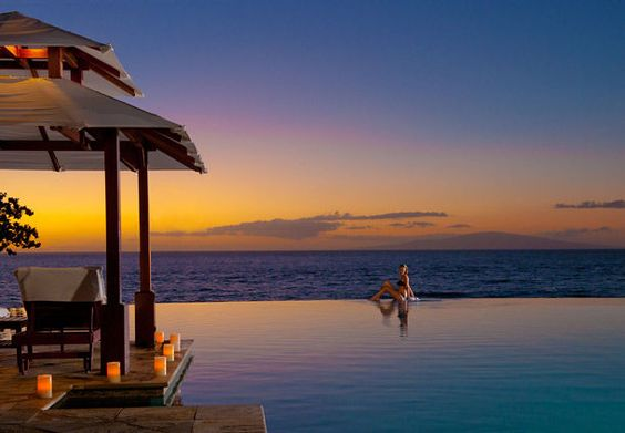 Este es el ''spot'' perfecto para ver el atardecer de Wailea Beach, Hawai. #atardecer #Hawai