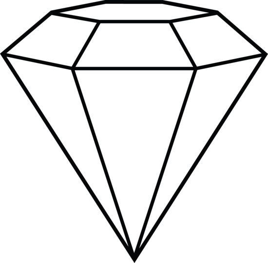 Diamond Line Art - Shape Inspiration | Diamond Hat | Pinterest ...