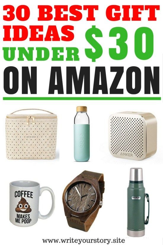 30 Cool Gift Ideas Under 30 For Him Her Write Your Story Amazon Christmas Gifts Cool Gifts Best White Elephant Gifts