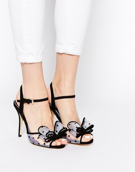Image 1 ofMiss KG Florrie Bow Heeled Sandals