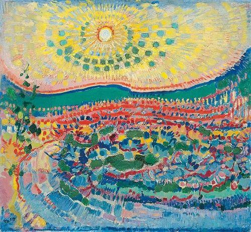 blastedheath: Jan Sluijters (Dutch, 1881-1957), October sun,...: