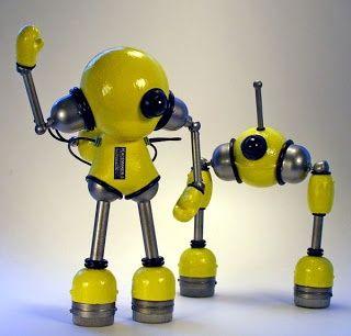 Custom Dunny Baloon | kidrobot munny dunny friendly robot art mike slobot slomunny