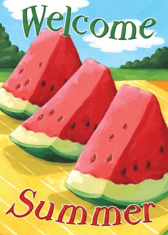 ☀☀SUMMER☀☀ Love Watermelon