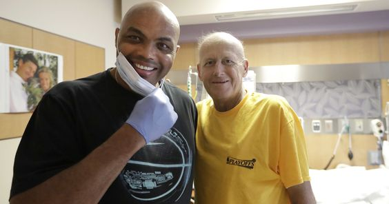 Charles Barkley's last-minute assist to help Craig Sager